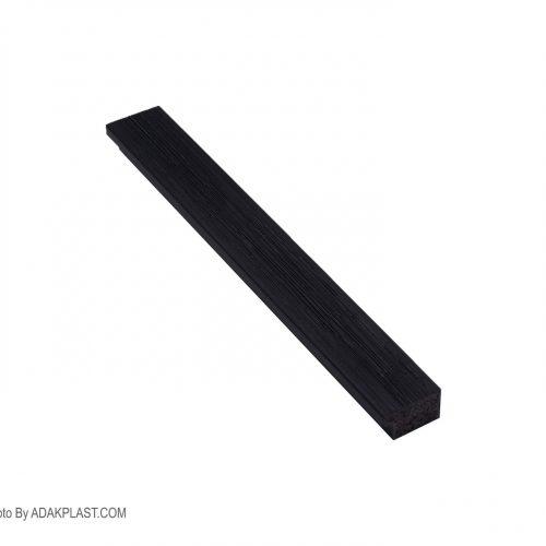 AP205-46H - قاب مشکی ساده - ۳ سانت تخت کبریتی - قاب عکس پی وی سی - فریم - pvc -