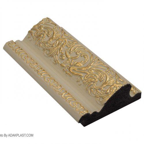 AP955-W409T - قاب عکس 9 سانت - قاب عکس ۹ سانت سلطنتی - قاب عکس رنگ کرم طلایی - قاب عکس سلطنتی رنگ کرم طلایی - قاب عکس پی وی سی - قاب عکس مدرن - قاب عکس سلطنتی تک گل -